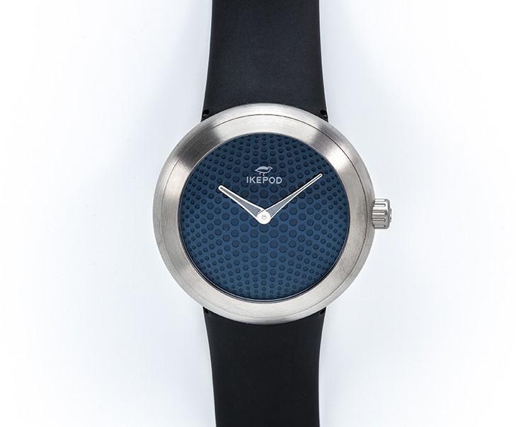 Horizon blue dial