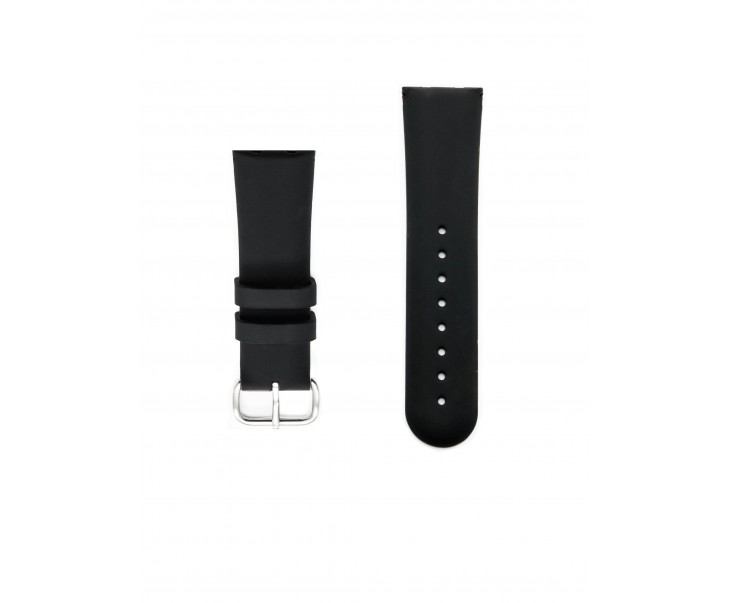 Small BLACK STRAP WITH BUCKLE  (S / women)